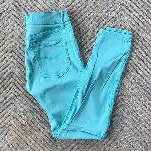 Gap Turquoise Legging Jeans